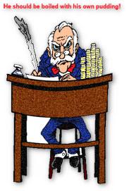scrooge at his desk clipart u0026quot;