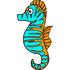 Sea life clipart seahorse seahorse clipart image cartoon clipartcow