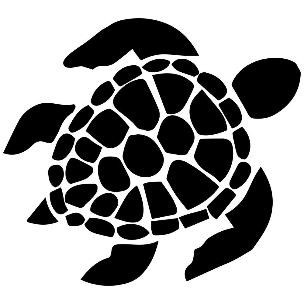 STICKERSLUG Sea Turtle Decal  - Sea Turtle Clipart