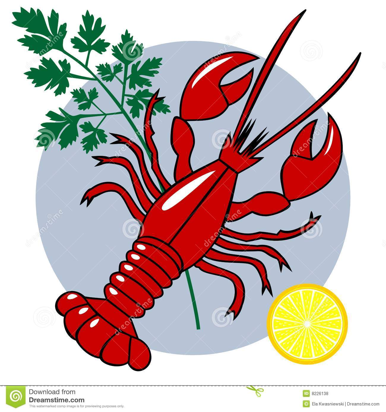 Seafood Clipart Vector Seafood