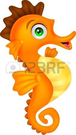 seahorse: Cute Seahorse Cartoon