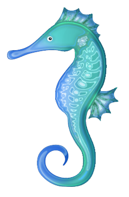 Seahorse sea horse clip art image 5 2