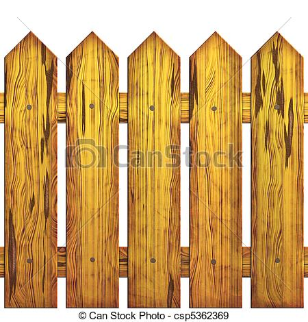 ... Seamless picket fence - Image of wooden protection which is.