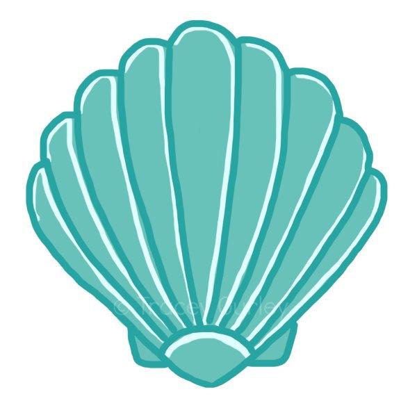 Seashell clip art sea shells clip art seashells 2 image 3