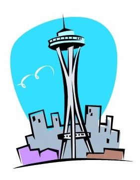 Seattle Free. Seattle Clip Art