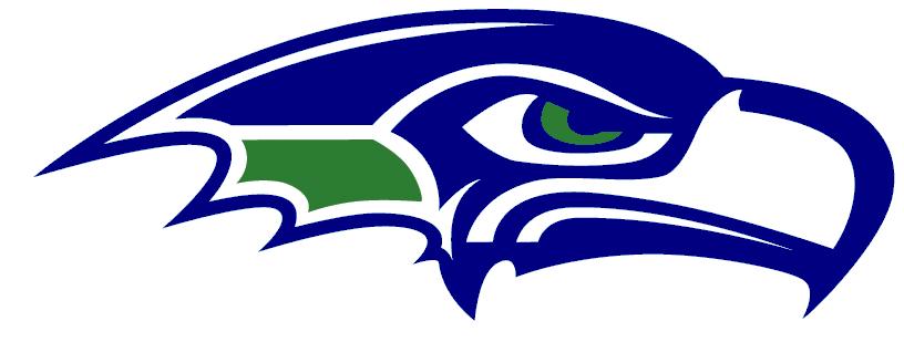 seahawks images | Seattle Seahawks Logo Stencil