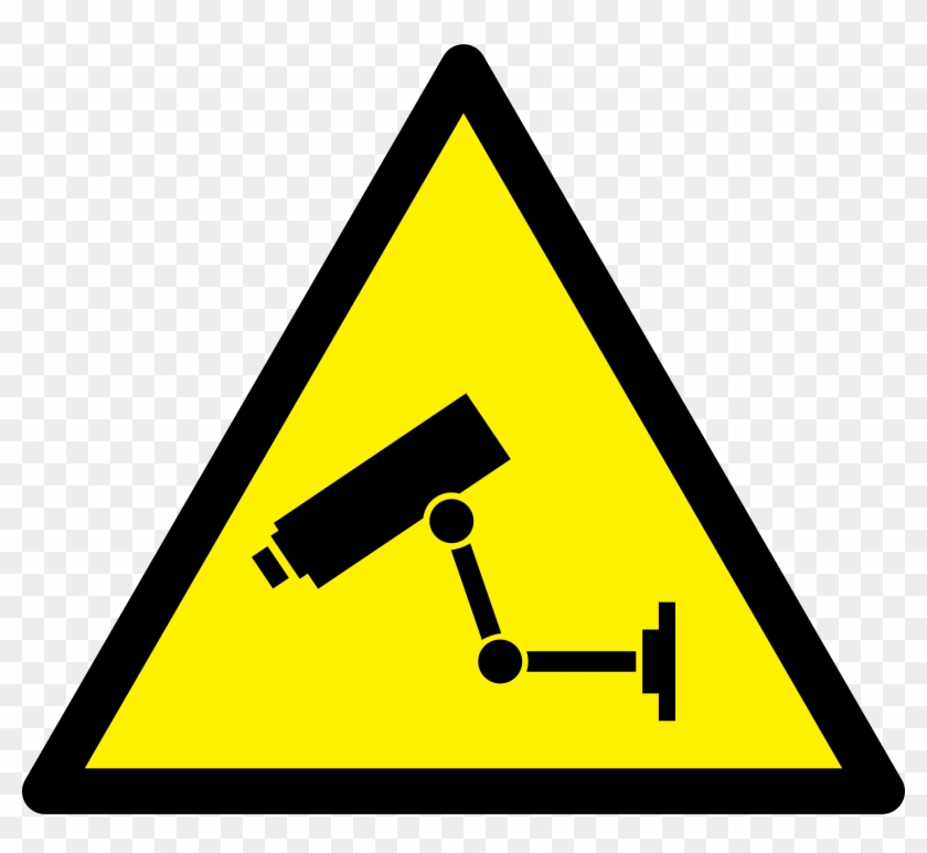 Caution Alien Clipart, Vector - Security Camera Clipart