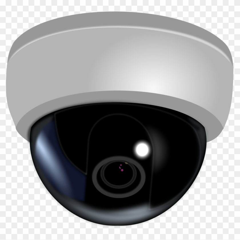 Security Cameras Clipart - Dome Camera Png