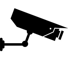 Surveillance Camera Clipart. Security