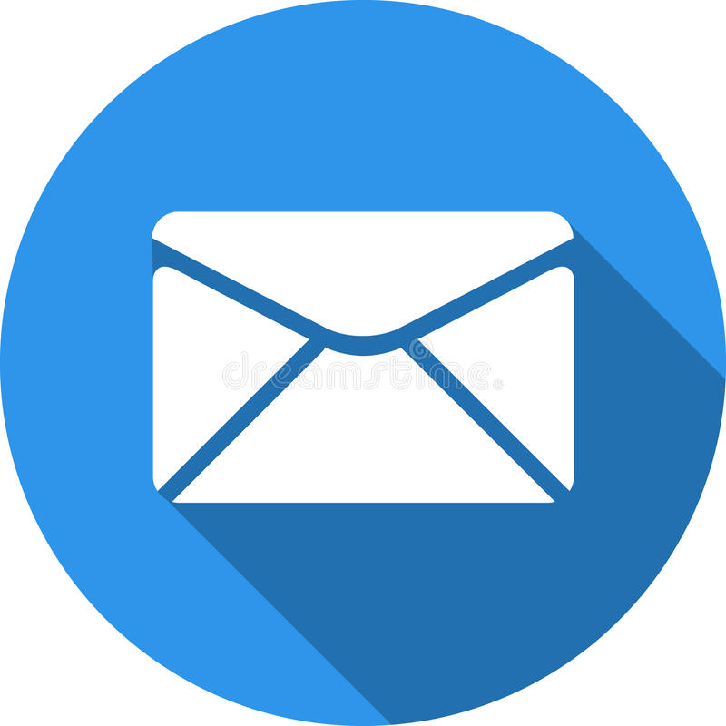 Send Email Message Sign. Internet Mailing Symbol. Stock Illustration -