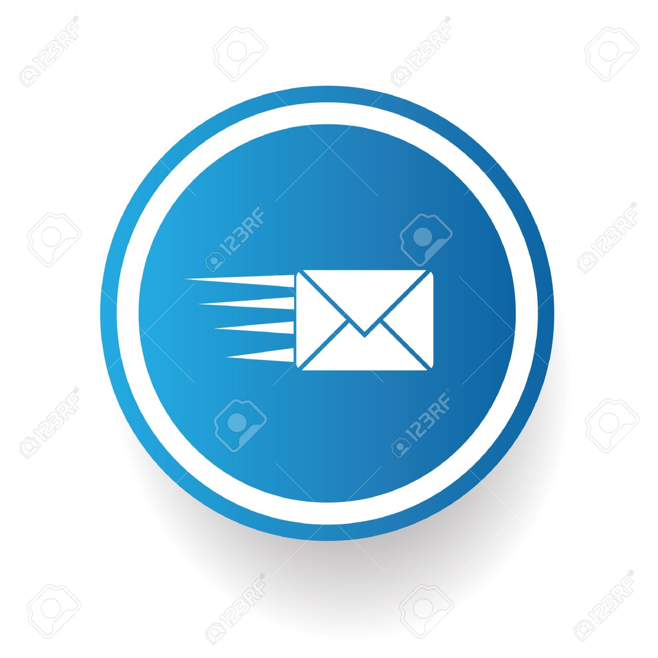 Send email symbol Stock Vector - 20836158