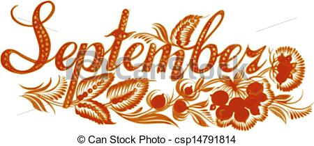 ... September the name of the month - September name of the.