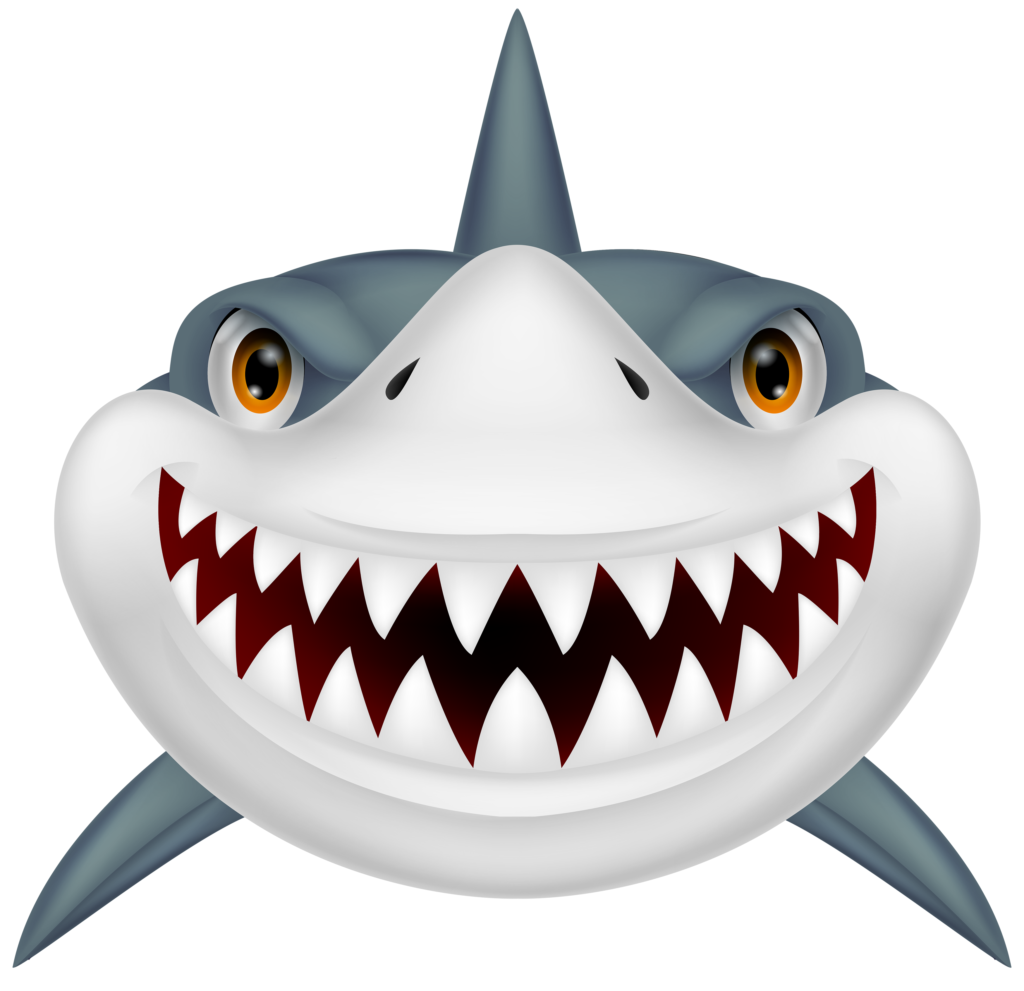 Shark clip art black and whit - Shark Clipart