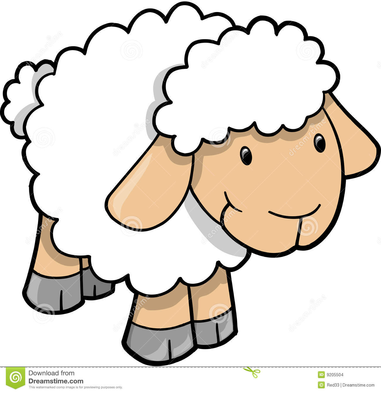 Sheep Clipart 1