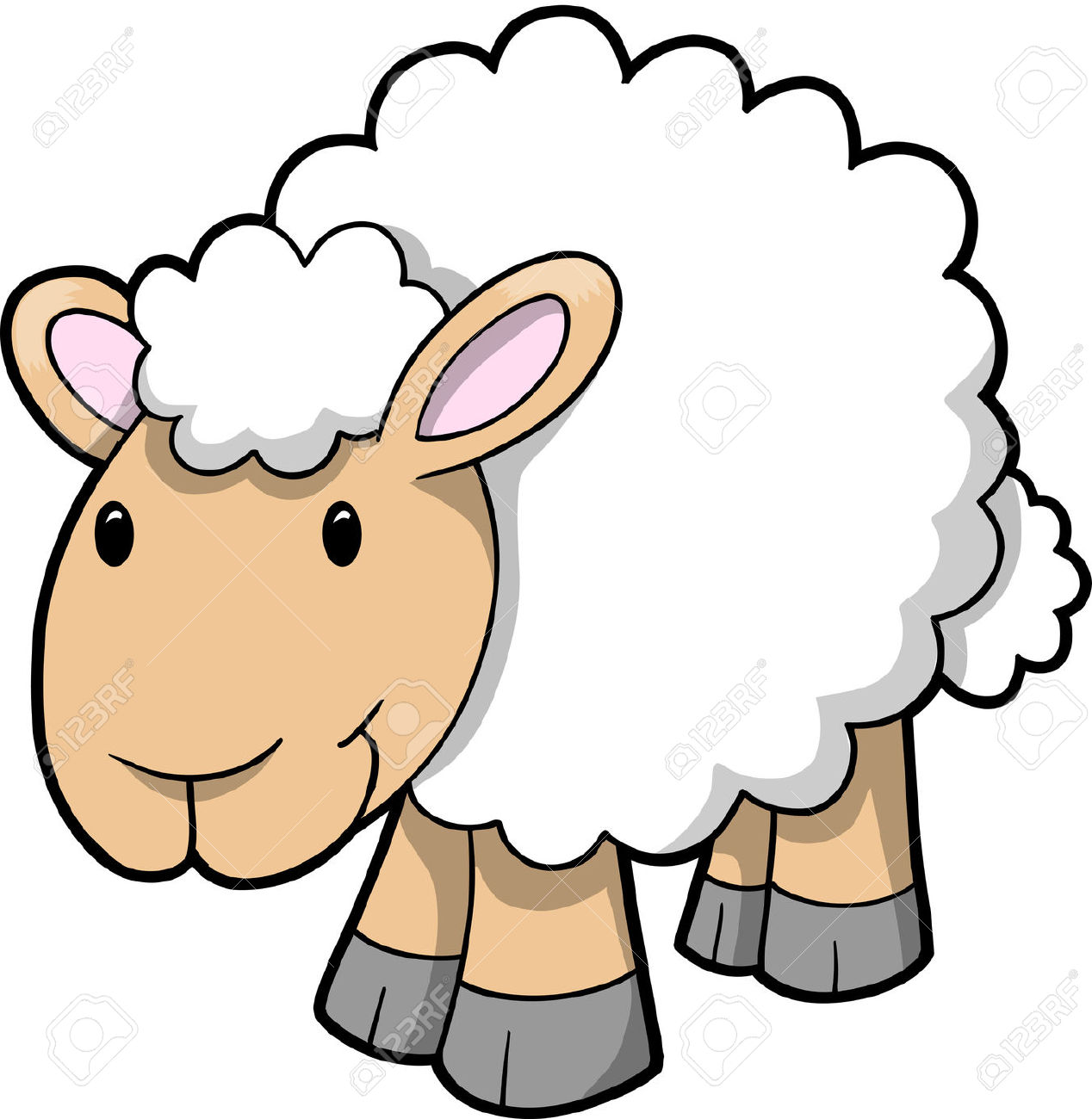 Sheep Clipart 5