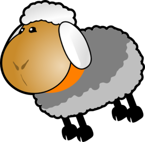Sheep lamb clipart black and white free clipart images 5