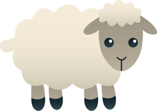Sheep lamb clipart black and white free clipart images clipartall