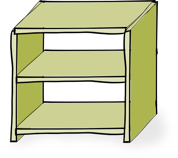 Shelves Clip Art