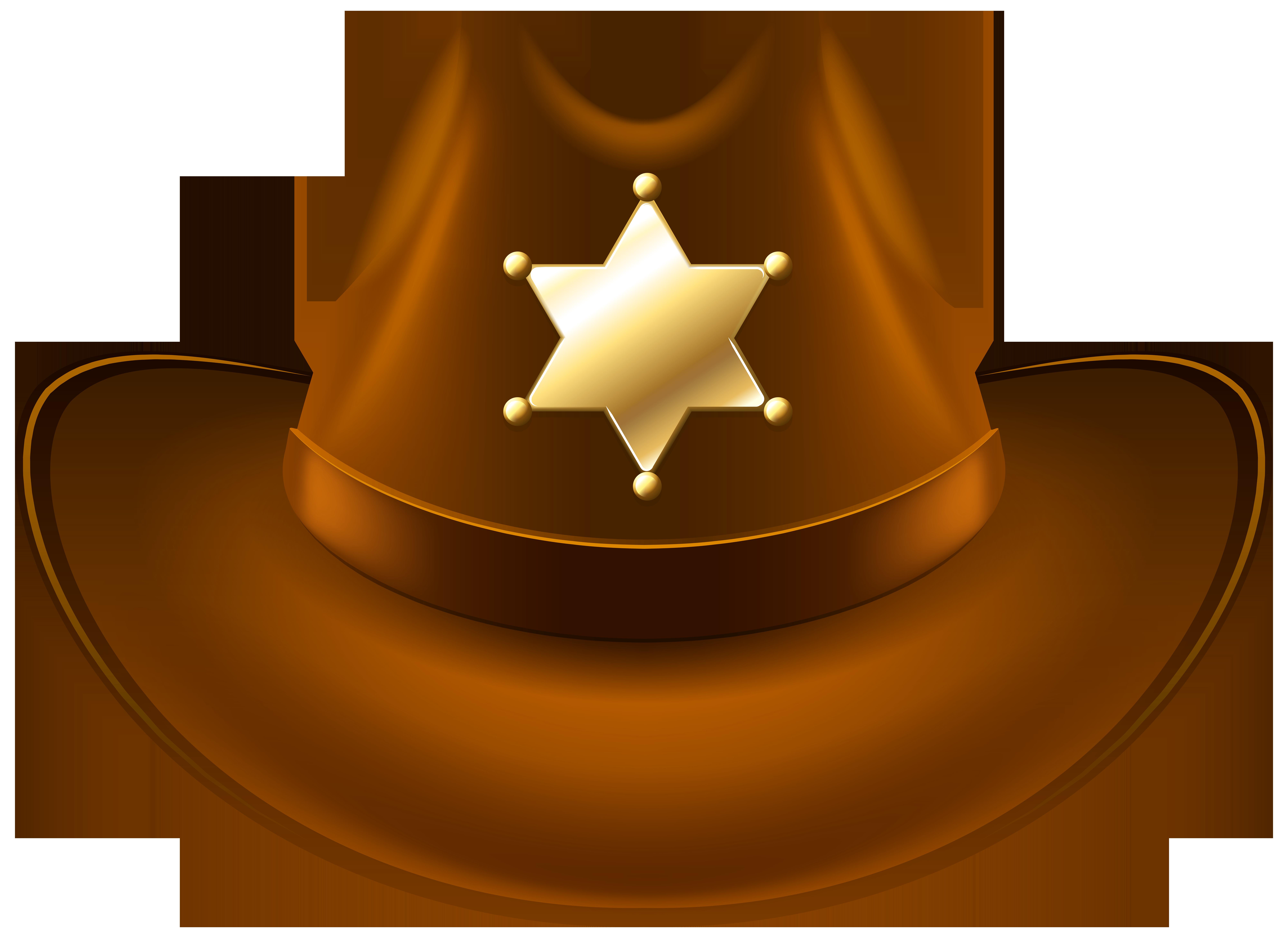 Sheriff Cowboy Hats Clipart u0026middot; «