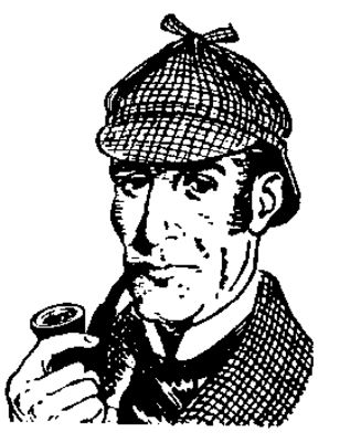 0 images about sherlock holmes on amigos donald clip art