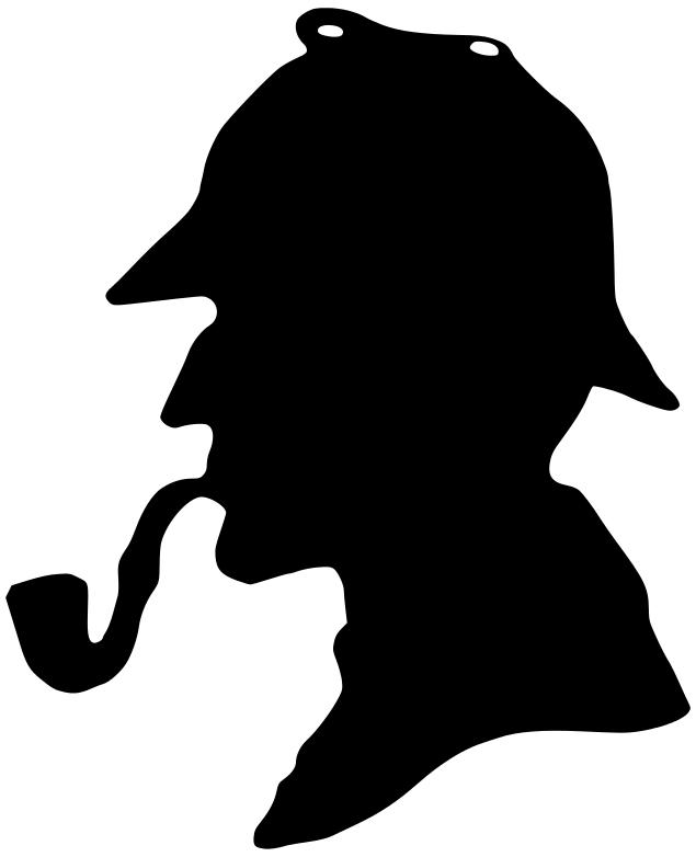 Sherlock Holmes Clipart #1