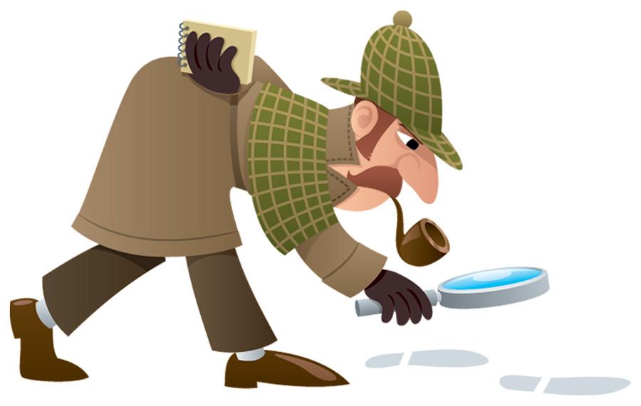 Sherlock Holmes clipart work #1