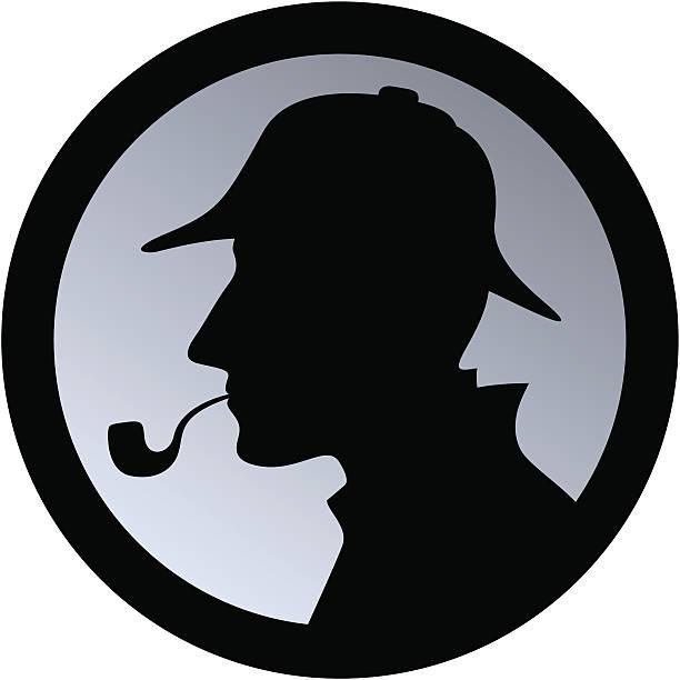Sherlock Holmes / Detective vector art illustration
