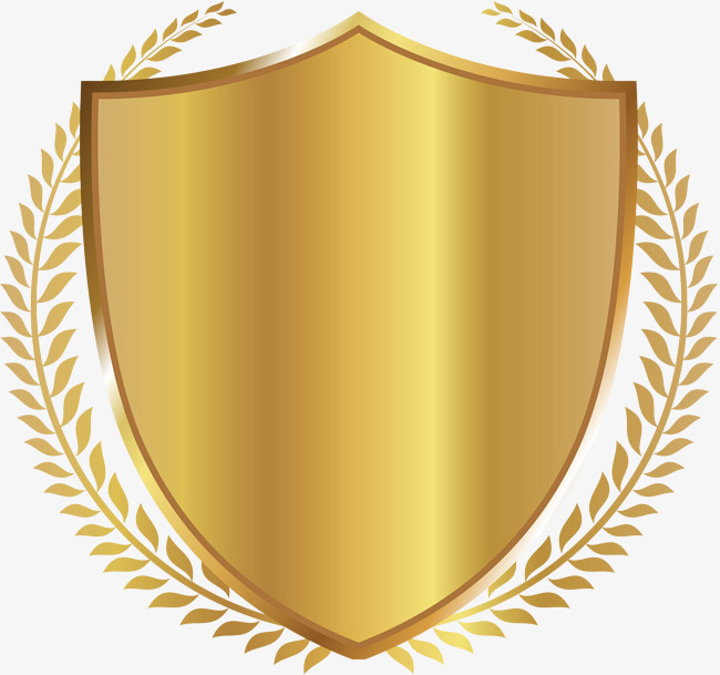 golden shield badge, Shield Clipart, Golden, Shield PNG Image and Clipart