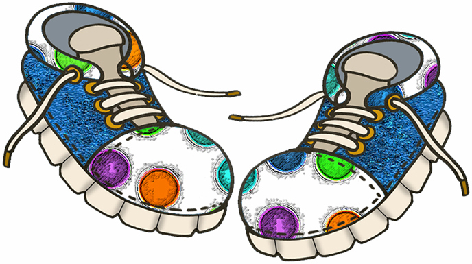 Clip-art-of-shoes free Shoe Clipart