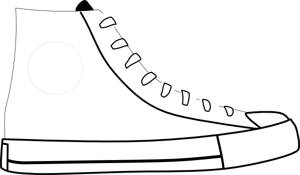 Shoes Clipart Black And White Clipart Panda Free Clipart Images