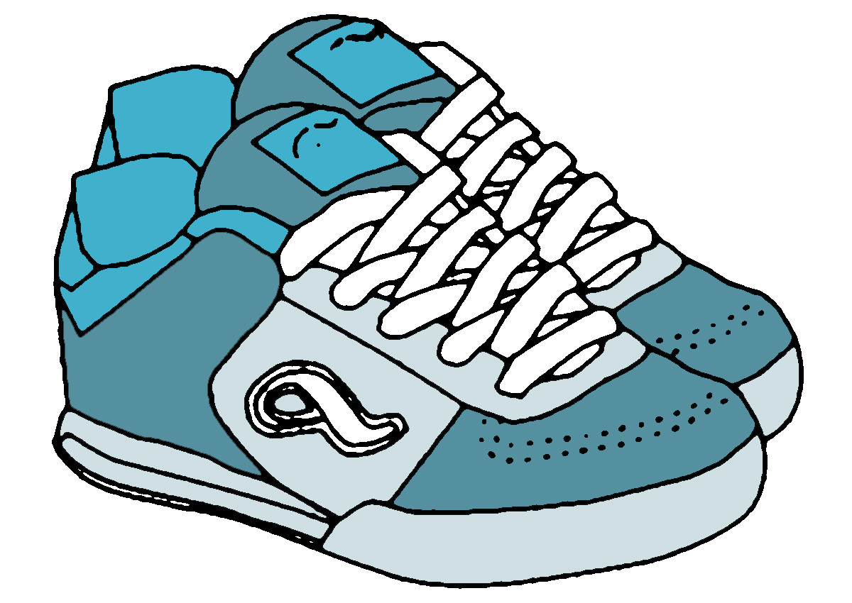 Shoes running shoes clipart running shoes clip art running shoe