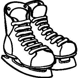 shoes,hockey, sports, ice .