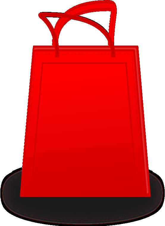 shopping bag clipart
