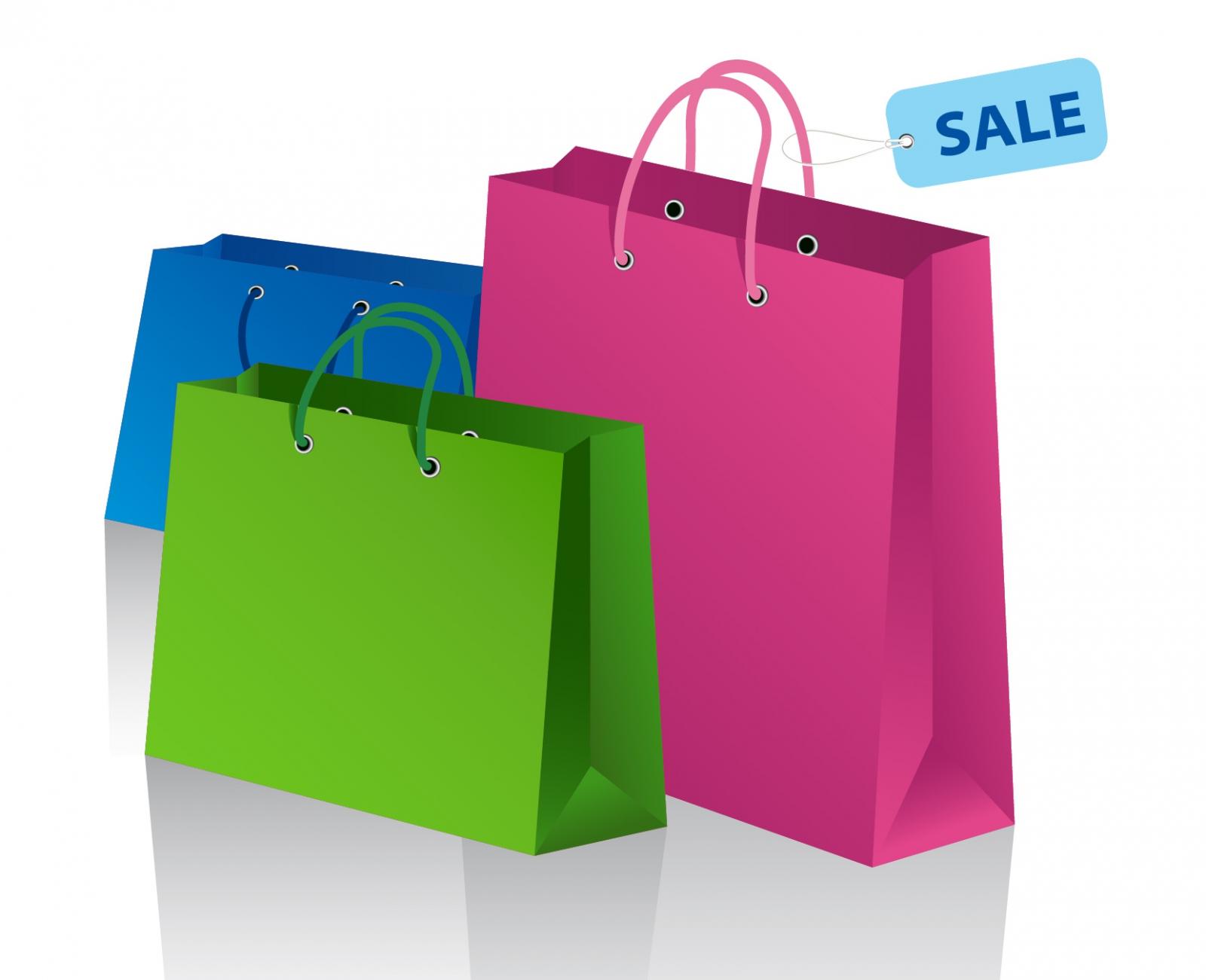 Shopping Bag Clipart #17594