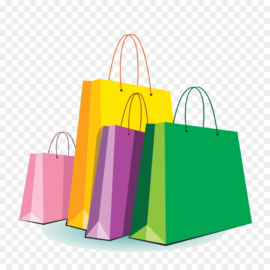 Shopping Bags u0026 Trolleys  - Shopping Bags Clipart