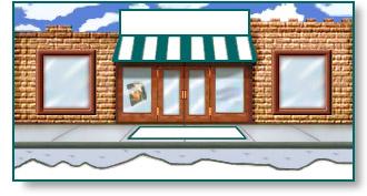 Shopping Clip Art Storefront