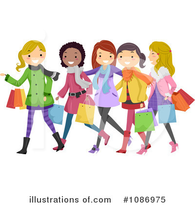 Shopping Clipart 1086975 By .