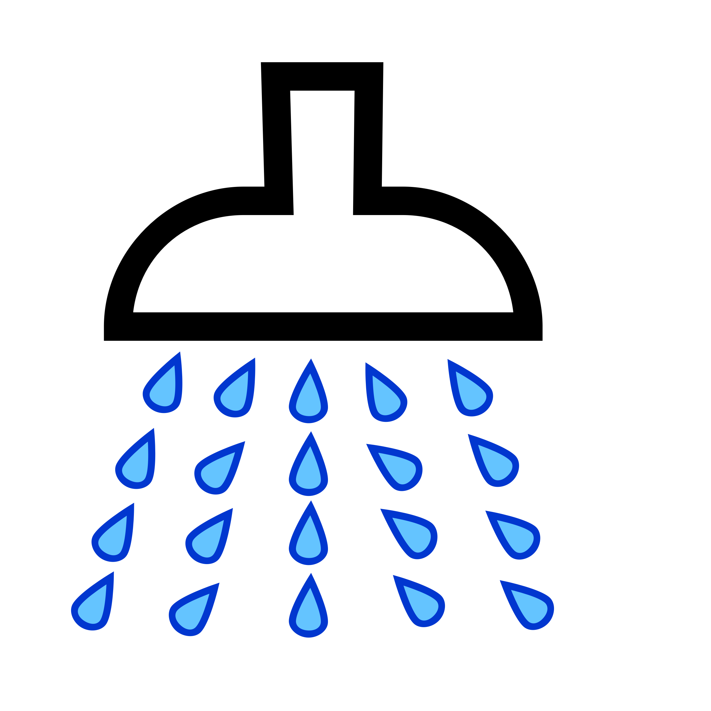 Shower Clip Art Free - Free Clipart Images .
