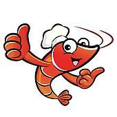 shrimp clipart