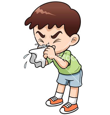 Sick Boy Cartoon Vector Art Download Kid Vectors 1482285