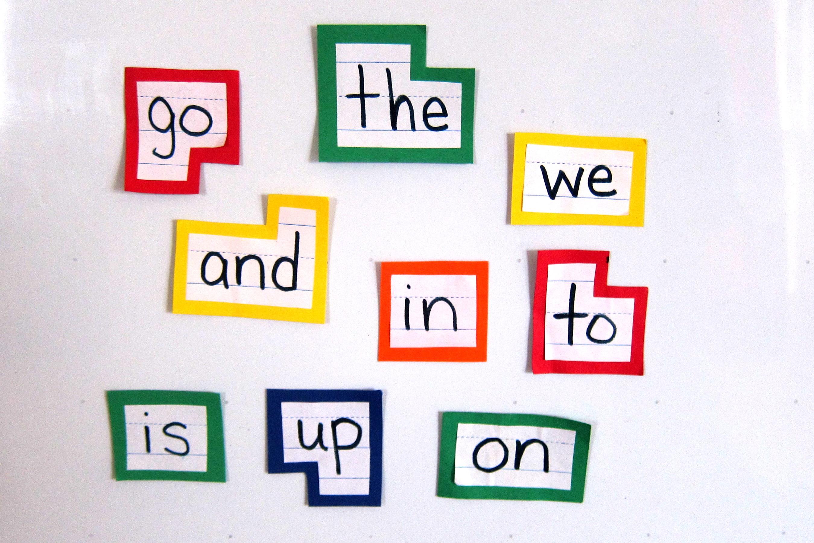 Sight Word Clip Art A New Sight Word