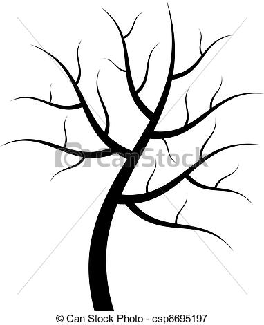 vector tree silhouette - Silhouette Tree Clipart