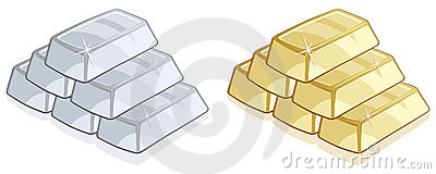 Silver Vector Clipart Royalty