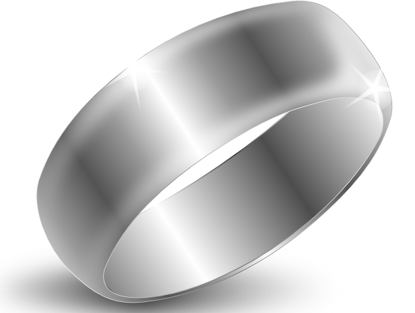Silver Ring Clip Art at Clker - Silver Clipart