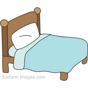 Simple Bed Clip Art