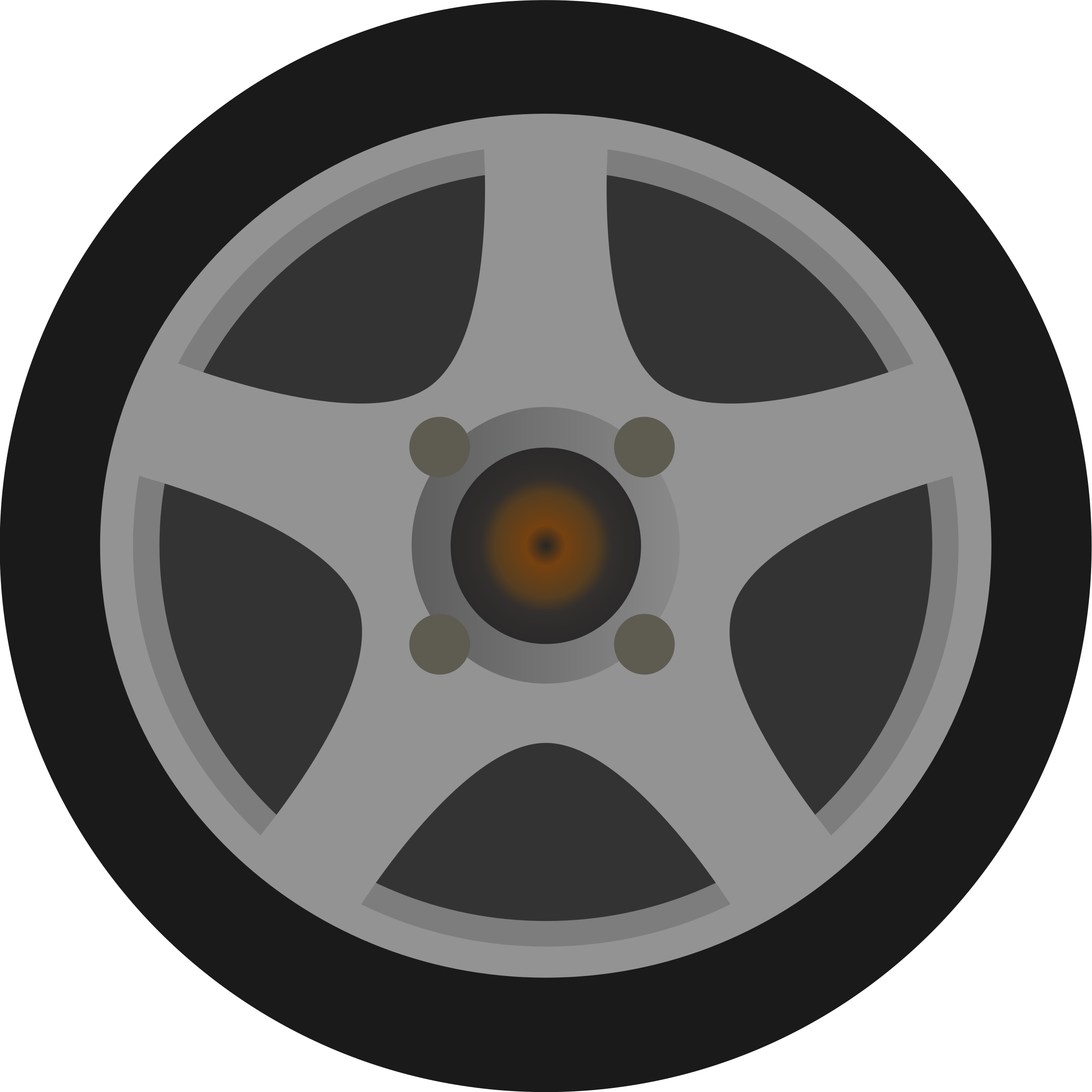 Simple Car Wheel/Tire Side .