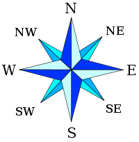 Simple Compass Rose - ClipArt Best .