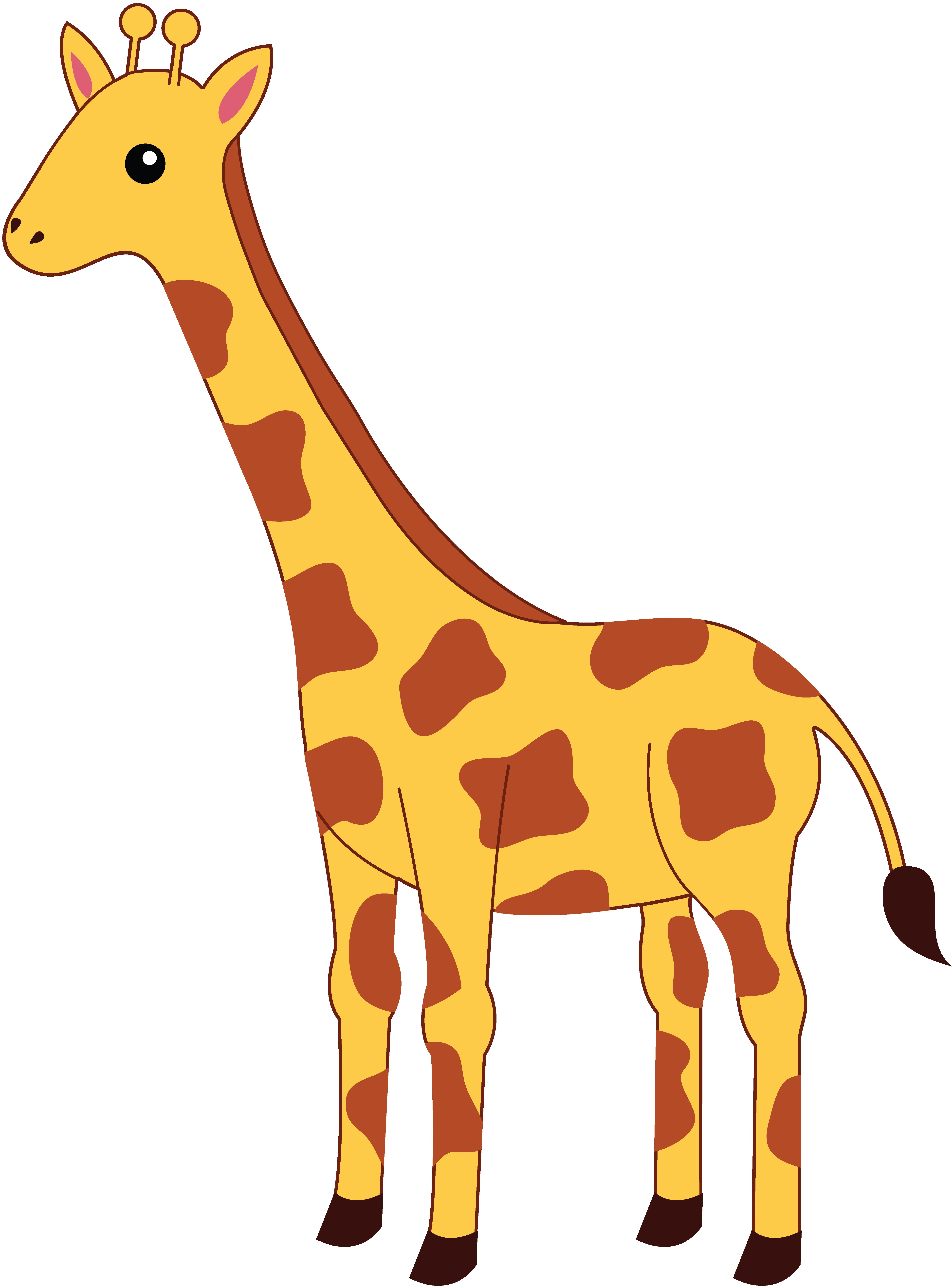 SIMPLE GIRAFFE OUTLINE | Cute Giraffe Clipart | APPLIQUE | Pinterest | Cartoon, Giraffes and Clip art