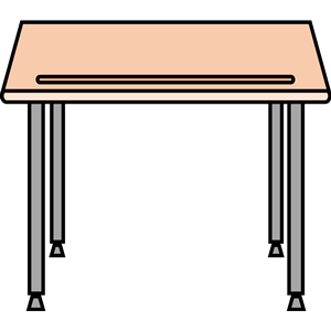 Simple school desk