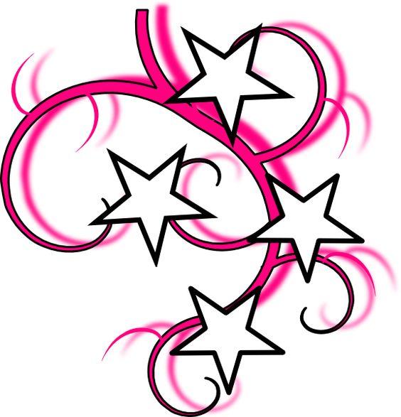 Simple Swirl Designs | Tattoo clip art - vector clip art online, royalty free u0026amp;